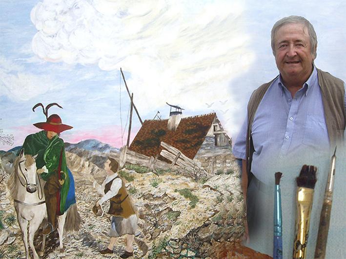 Gérard Grallié - Artiste-peintre - Carpentras, Vaucluse, Provence